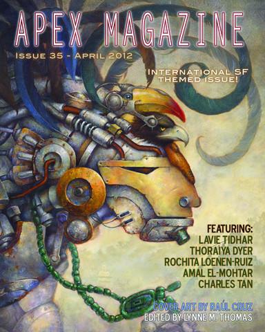 Apex Magazine Issue 35 Cover