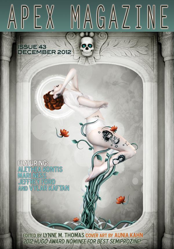 Apex Magazine Issue 43 Cover