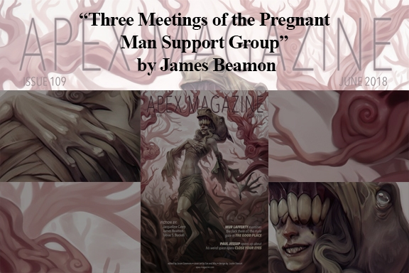 Three Meetings of the Pregnant Man Support Group