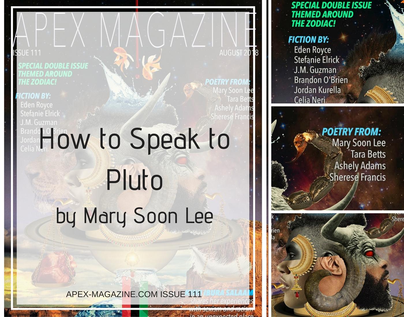 How to Speak to Pluto