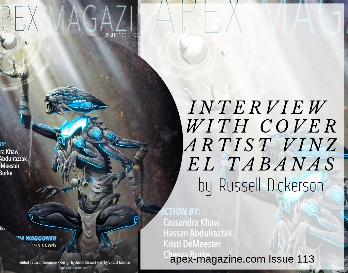 Interview with Cover Artist Vinz El Tabanas