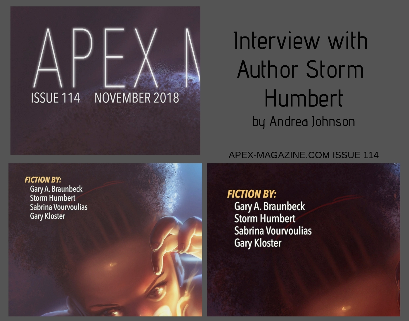 Interview with Author Storm Humbert