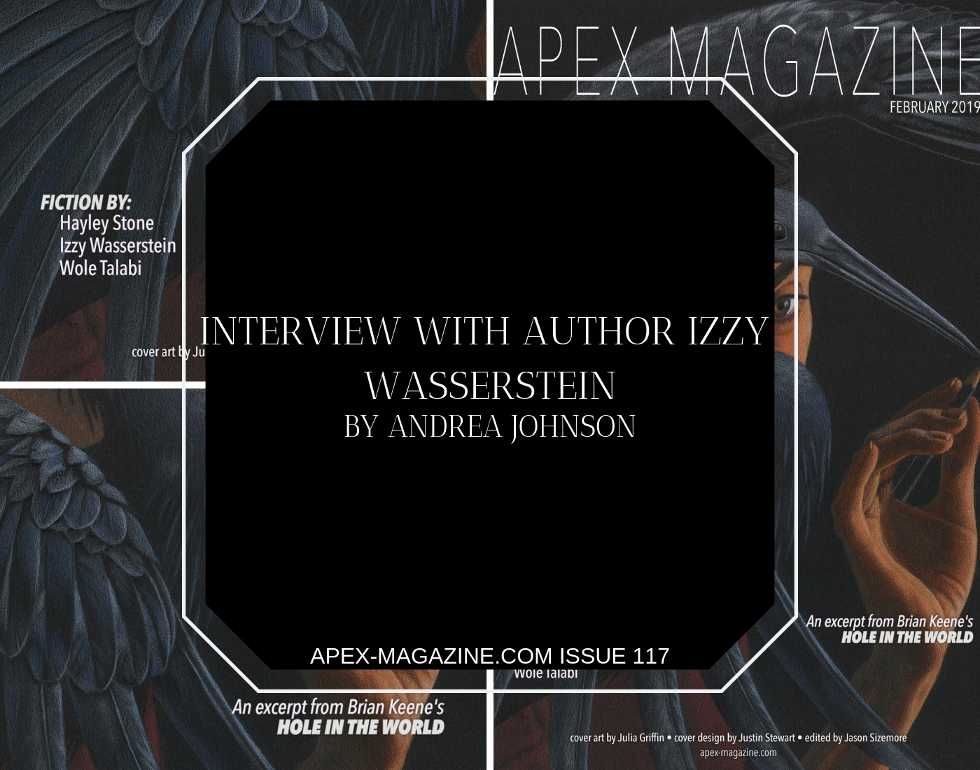 Interview with Author Izzy Wasserstein
