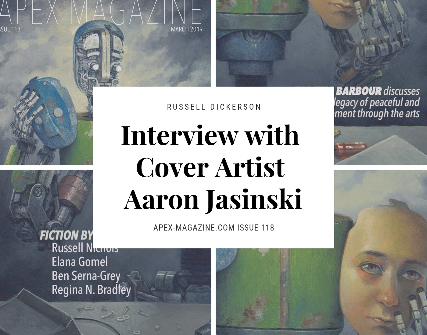 Interview with Cover Artist Aaron Jasinski