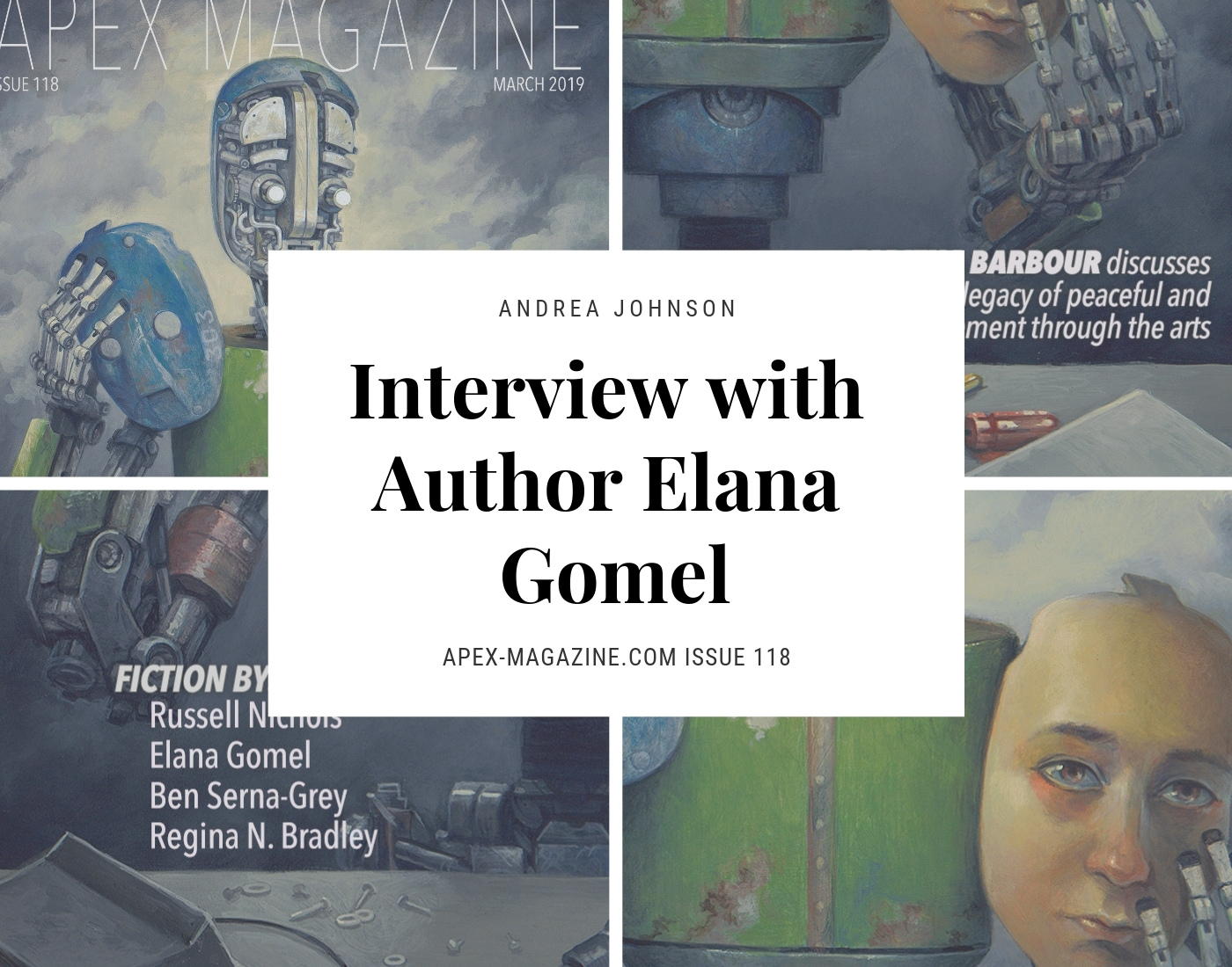 Interview with Author Elana Gomel