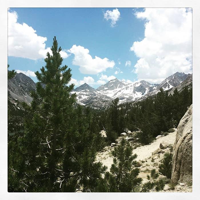 Sierra Mountains in California, near Mammoth